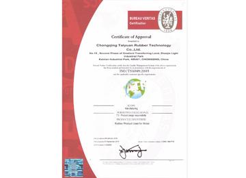 BV证书英文版