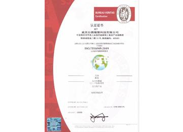BV证书中文版